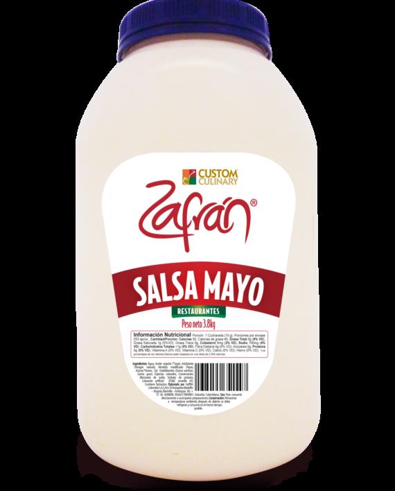 Salsa mayo garrafa para restaurantes