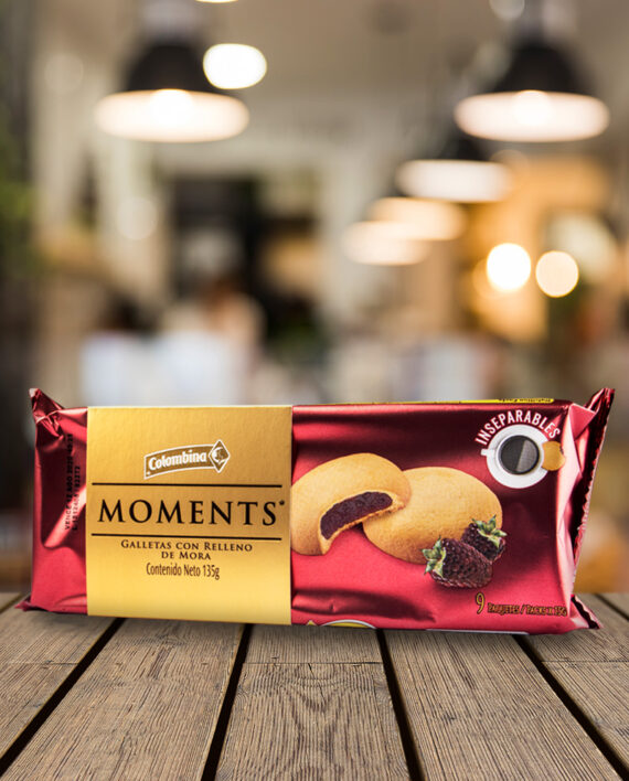 galletas moments colombina